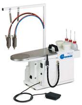 Отделочное и финишное оборудование для прачечных и химчисток, ПЯТНОВЫВОДНЫЕ СТОЛЫ - GB S COMPACT