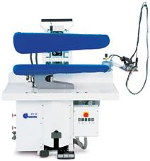 Отделочное и финишное оборудование для прачечных и химчисток, ГЛАДИЛЬНЫЕ ПРЕССА - Model P98 U3