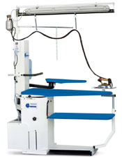 Отделочное и финишное оборудование для прачечных и химчисток, ГЛАДИЛЬНЫЕ СТОЛЫ - Model TORNADO