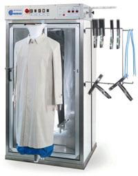 Отделочное и финишное оборудование для прачечных и химчисток, ПАРОМАНЕКЕНЫ И ПАРОВЫЕ КАБИНЫ - Model VAPOR BOX