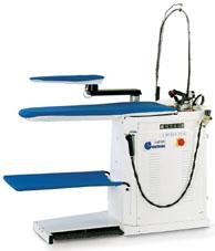 Отделочное и финишное оборудование для прачечных и химчисток, ГЛАДИЛЬНЫЕ СТОЛЫ - Model VAPOR GB