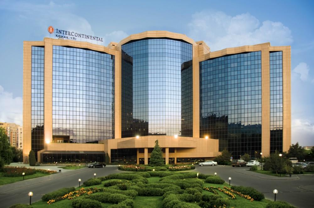 Наши клиенты - отель Intercontinental Алматы