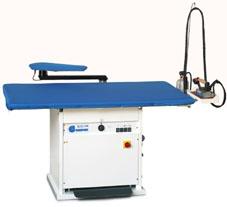 Отделочное и финишное оборудование для прачечных и химчисток, ГЛАДИЛЬНЫЕ СТОЛЫ - Model EOLO M