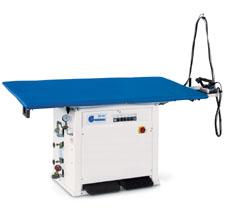 Отделочное и финишное оборудование для прачечных и химчисток, ГЛАДИЛЬНЫЕ СТОЛЫ - Model GB MV