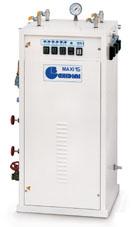 Отделочное и финишное оборудование для прачечных и химчисток, ЭЛЕКТРИЧЕСКИЕ ПАРОГЕНЕРАТОРЫ - Model MAXI 15
