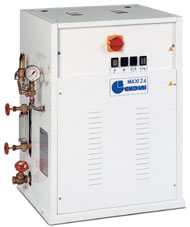 Отделочное и финишное оборудование для прачечных и химчисток, ЭЛЕКТРИЧЕСКИЕ ПАРОГЕНЕРАТОРЫ - Model MAXI 24
