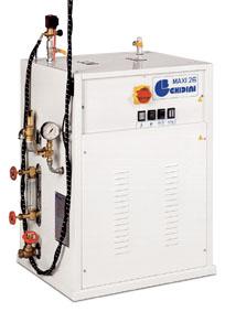 Отделочное и финишное оборудование для прачечных и химчисток, ЭЛЕКТРИЧЕСКИЕ ПАРОГЕНЕРАТОРЫ - Model MAXI 26